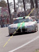 Chrysler Viper GTS-R (Cudini/Sifton/Morton) photo. Le Mans 24 hours 1996 exits esses